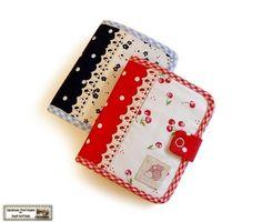 Bi fold wallet sewing tutorial