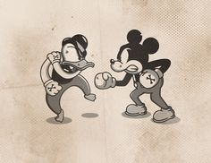Come at me, Rat Boy! by Cookies & Milk, via Behance