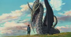 Tales From Earthsea Studio Ghibli Totoro, Pom Poko, Tales From Earthsea, Dragons, Le Vent Se Leve, Isao Takahata, Film Anime, Love Scenes, Film D'animation