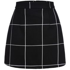 SheIn(sheinside) Plaid Mini Skirt