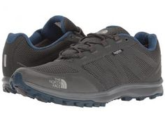 The North Face Litewave Fastpack WP (Dark Shadow Grey/Shady Blue) Men's Shoes