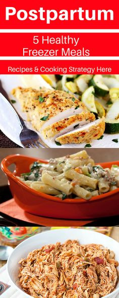 This will make your postpartum weeks so much easier.  5 healthy freezer meals for postpartum