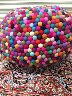 felt ball rug | felt ball rug, felt ball and felting