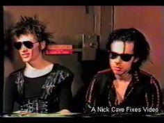 ▶ Nick Cave & Blixa Bargeld Interview - Pt 1 (Rare, 1st American tour) June 27, 1984 - YouTube