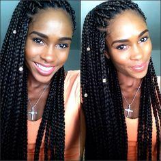 Summer Time Braids  Thank you @rosalindmacon #hair #Hot #HotGirl #PumaGirl #Singer #Olympian #Vacation #Jamaican