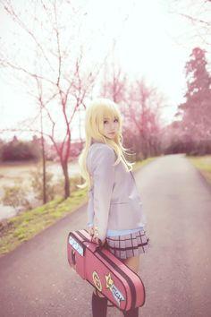 Miyazono Kaori - QIU(帕琪与兔) Miyazono Kaori Cosplay Photo - Cure WorldCosplay