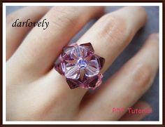 (5) Name: 'Jewelry : Triangular Pink Purple Ring - Free
