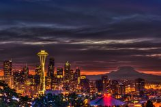 Seattle...Beautiful city. Loved it there. I lived about an hour north of here in Skagit Valley in La Conner, WA. Love this area!
