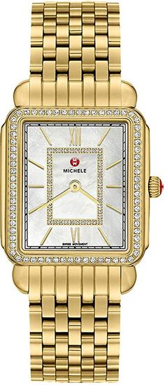Discover a large selection of Michele Deco watches on - the worldwide marketplace for luxury watches. Compare all Michele Deco watches ✓ Buy safely & securely ✓ Tag Heuer Aquaracer Ladies, Discount Watches, Gold Glass, Watch Brands, Cool Watches, Gold Watch, Bracelet Watch, Quartz, Deco