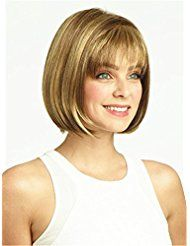 Cheap wig blue, Buy Quality wigs realistic directly from China wig stock Suppliers: Short Straight Bob Wig With Thin Air Bangs for American Women Cheap Synthetic Fake Hair bob Wig Heat Resistant Realistic Wig Fringe Bob Haircut, Bob Haircut For Fine Hair, Haircut For Older Women, Short Hair Images, Short Hair Cuts, Short Bob Hairstyles, Wig Hairstyles, Haircuts, Medium Hair Styles