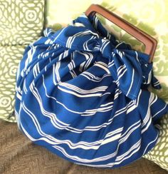 Making Furoshiki Bag by hibilabo, via Flickr