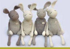 Ganchillo patrones para conejo pequeño héroe DIY por eineIdee
