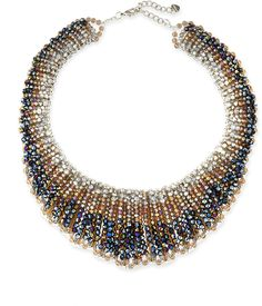 Nakamol Czech Crystal Statement Necklace on shopstyle.com
