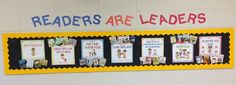 Leader in Me Bulletin Boards - Bing Images Leadership Bulletin Boards, School Bulletin Boards, Reading Assessment, Reading Intervention, Seven Habits, 7 Habits, I School, Back To School, School Ideas