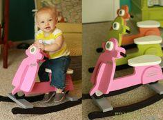 DIY Baby Scooter Rocking Toy