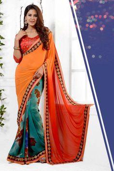 9a12f3de7268b 15 Best Bindanistudio exclusive daily wear georgette saree images ...