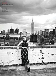 Kate Mara   Elle, Canada February 2014.