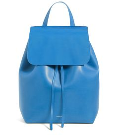 All your backpack dreams came together into this Mansur Gavriel piece. Photo via Mansur Gavriel #shopping #fashion #backpack