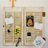 Creabord van shutters