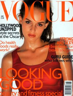 Amber Valletta by Nick Knight Vogue UK June 1997