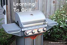 Learning to grill -
