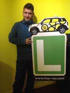 NELSON ARENAS!!! #hoyvoy #autoescuela #barcelona