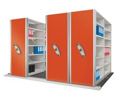 Storage shelving is the most efficient and cost effective way to transform your messy office into a very organized one. The best part of these units is that they can be easily fitted along the walls. You can make use of every inch of the floor space to install these racks. Shelving system gives complete executive and elegant look to the offices.