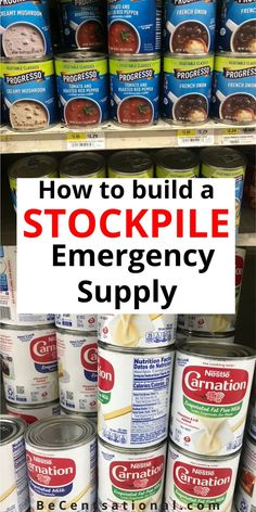 How To Stock a Real Food Emergency Kit. How to Put Together an Emergency Preparedness Kit. Here's a guide on assembling an emergency food kit to help you prepare Emergency Food Kits, Emergency Food Storage, Emergency Preparedness Kit, Emergency Preparation, Emergency Supplies, Survival Prepping, Survival Skills, Survival Gear, Survival Shelter