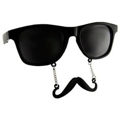 "Sun-Staches ""The Original Mustache Sunglasses"" Catch eyes. Turn heads. BE THE PARTY.  	$9.99"
