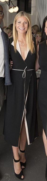 Gwyneth Paltrow: Dress – Atea Oceanie  Shoes – Christian Louboutin