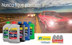 Atravesse gerações sem perder eficiência, use lubrificantes Ipiranga e NUNCA FIQUE PARA TRÁS. Lubrificantes Carro. Packaging, Stay Alone, Cars, Wrapping