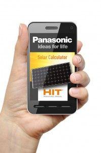 """Panasonic stellt mit der kostenlosen """"Solar Calculator""""-App ein Hilfsmittel für die Planung von Solaranlagen bereit"""