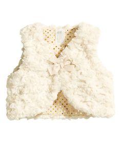 Faux Fur Vest | Product Detail | H&M 4-6 mo // Layla