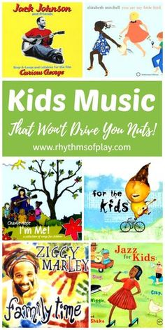 Music for kids - Good quality albums with real music for you and your children to enjoy can be hard to find. Whether you are on a family road trip, having music time, or just playing and hanging out there is something for everyone here. Kids music (that w