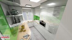 projekt wnętrza kuchni i łazienki w Krakowie; więcej na: http://marengo-architektura.pl/portfolio/projekt-wnetrza-krakow/