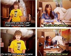 HAHAHA. I want to meet the writers for Modern Family.