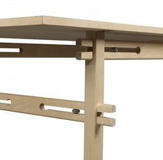 Birch with self exciting undercarriage (without screws). h 72 l 244 d 87 cm. Design by Gustav Person. Källemo Furniture of the Year Sköna Hem. Modular Furniture, Plywood Furniture, Furniture Design, Plywood Floors, Kid Furniture, Modern Furniture, Joinery Details, Wood Joints, Cnc Wood