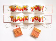 Thank You Card Books by Candy Wooding