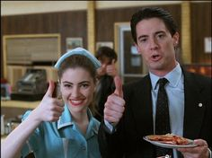 Shelly Johnson and Special Agent Dale Cooper,Twin Peaks