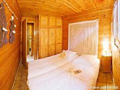 Looks like we've got double trouble in this #furnished #vacation #chalet in the #French Alps. But it's the best kind of trouble.