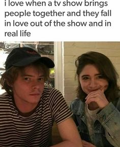 Charlie Heaton and Natalia Dyer Best Tv Shows, Best Shows Ever, Favorite Tv Shows, Movies And Tv Shows, Stranger Things Have Happened, Stranger Things Funny, Charlie Heaton, Marvel Dc, Stranger Danger