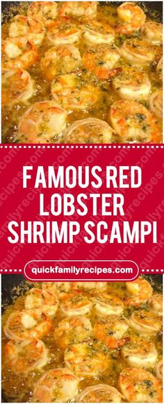 Ingredients : 1 lb medium shrimp, peeled and deveined 1 tablespoon pure olive oil 2 tablespoons garlic, finely chopped… 1 cups white wine, I use chardonnay fresh lemon, Juice only 1 teaspoon Italian Lobster Recipes, Fish Recipes, Seafood Recipes, Cooking Recipes, Quick Recipes, Shrimp Scampi Without Wine, Shrimp Scampi Pasta, Seafood Pasta, Noodles