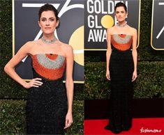 Golden Globe 2018: Allison Williams - Fashionismo