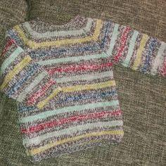 Strik i bomuld/uld - størrelse 2 år