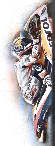 PhilVeitch Wow it's been busy. Dani Pedrosa on the Repsol Honda. Motorcycle Tips, Moto Bike, Marc Marquez, Valentino Rossi Yamaha, Bike Pic, Honda Vfr, Scooter Bike, Riding Gear, Super Bikes