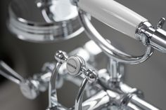 Axor Montreux Freestanding Tub Filler with Lever Handles in Chrome from Hansgrohe