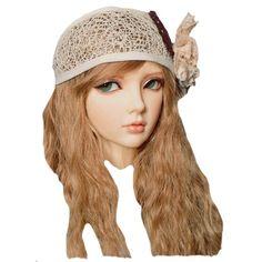 kaycee's kreations (kaycee99) ❤ liked on Polyvore featuring doll head