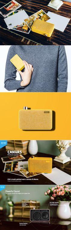 Canvas Bluetooth Speaker - Elegant, Portable, Mighty Sound | Xberts.com