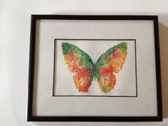 Butterfly Print  Beautiful print of watercolor by TheChickenKoop