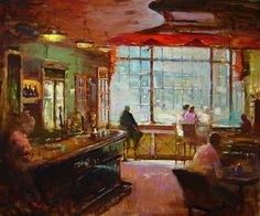 London Pub 20x24 Oil Painting by Jim Rodgers Fine Art Artist #FineArt #JimRodgers